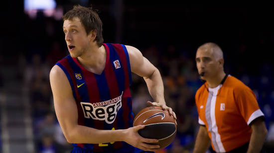 Joe Ingles stars for Barcelona as they prepare to face the Dallas Mavericks