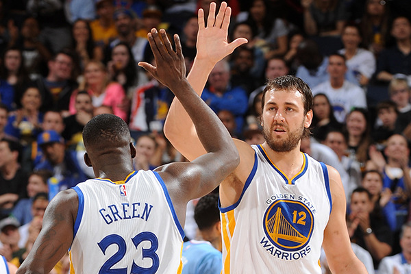 Warriors  Andrew Bogut Seems Content With Role Defined for Him 61143900e